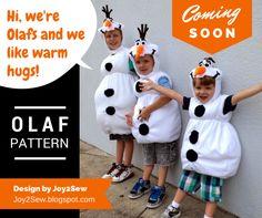 Joy 2 Sew: Olaf Preview...
