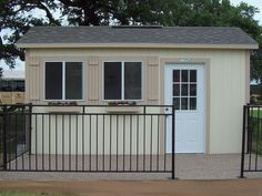 PRO Tall Ranch on the 18th green (10x16) by TUFF SHED Storage Buildings & Garages, via Flickr