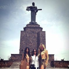 Pin for Later: The Kardashians Cause Major Mayhem After Touching Down in Armenia