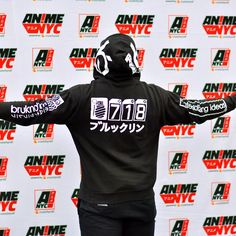 "9 Likes, 1 Comments - bruknahm VISUAL GARMENTS (@bruknahm) on Instagram: ""Merch recognition at AnimeNYC at Jacob Javitz!!! Big up to all my AnimeHeadz! The 718 Zip Hoodie…"""