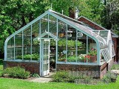 Greenhouse, Smokehouse, Root Cellar, and Brick Oven... yes please!
