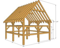 Timber Packages - Frontier Barn Homes