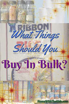 Have you ever noticed how much you save when you buy in bulk? Some things are worth buying in bulk, but some products don't do so well.