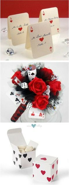 From elopements to the full blown wedding affair getting married in Vegas can turn any dream into a reality. 'Bet on Love' bridal bouquet. Card Box Wedding, Wedding Place Cards, Wedding Day, Wedding Parties, Trendy Wedding, Wedding Reception, Reception Card, Wedding Rings, Post Wedding