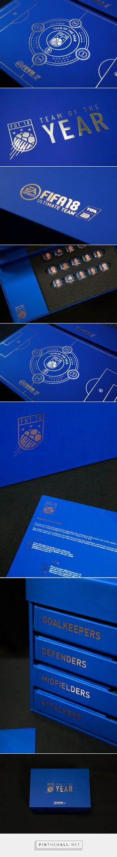 Fifa 18 Team Of The Year Ballot Box design by Ravin Ed & Jonathan Wang - http://www.packagingoftheworld.com/2018/01/fifa-18-team-of-year-ballot-box.html
