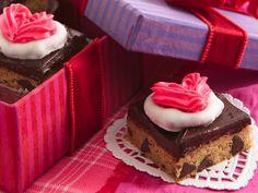 Chocolate Chip Truffle Bars #ValentinesDay