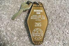 IRamada Inn Murfreesboro Pike Tennessee Hotel key and fob Room 285