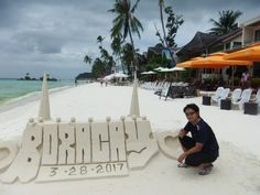 "Boracay ""The best beach in the world"" – Lakingdavao Exotic Beaches, Tropical Beaches, Mindanao, Enjoy The Sunshine, Crystal Clear Water, Beaches In The World, Southeast Asia, Philippines, Summer Months"