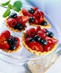 Fresh Fruit Tartlets | DianasDesserts.com