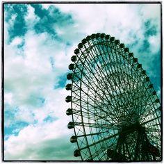 ferris wheel, yokohama, japan