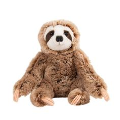 Sitting Simon the sloth has the most endearing face, detailed little claws and ultra soft plush fur. Measures 8 inches. The perfect cuddly companion.