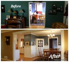 Amazing how easy it is to change the entire look and feel of your home-by simply opening up a few walls!