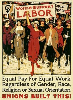 Women Support Labor poster, ca.1941