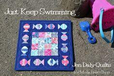 Just Keep Swimming Quilt « Moda Bake Shop