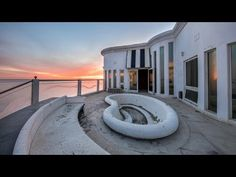 Abandoned 16 Million Dollar Mansion on the Beach in Malibu - YouTube