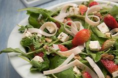 PRONACA RECETA: Ensalada de hojas verdes y jamón de pollo