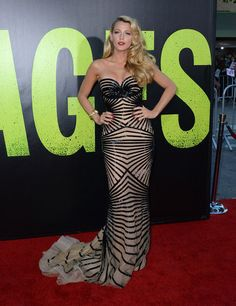 blake lively... Another one who consistently rocks the red carpet