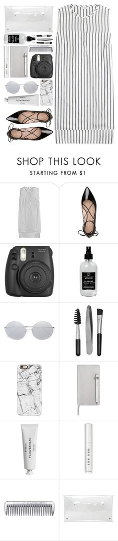 """""""#972 Adie"""" by blueberrylexie ❤ liked on Polyvore featuring Brunello Cucinelli, Kate Spade, Fujifilm, Little Barn Apothecary, Linda Farrow, Sephora Collection, Casetify, ICE London, Byredo and Bobbi Brown Cosmetics"""