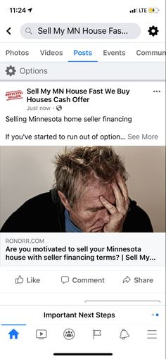 Selling Minnesota home seller financing  If you've started to run out of options on selling your Minnesota home, or making your mortgage payments, you may find that seller financing is a good final option.  There are investors in Minnesota who either have bad credit, not a lot of money upfront, or own a lot of minnesota homes as seen on their credit report.  The challenge these investors have is that they can't easily buy a home in a conventional way unless they have all cash, or 20% down… Compound Effect, Minnesota Home, We Buy Houses, Credit Report, Mortgage Payment, Lots Of Money, How To Start Running, Investors, Home Buying