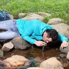 Outdoor Hiking Water Filter Straw  #bush #walking #sleeping #fishing #camping #backpack #bag #hiking #tents #basecamp