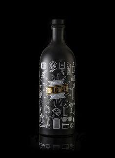 Ron Draper / Advertising Rum / Design by André Moreira, via Behance