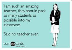 Teacher eCard - I'm such an amazing teacher...
