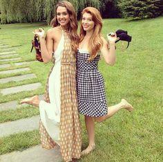 Jessica Alba and bff makeup artist Lauren Anderson