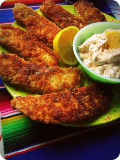 Panko Crusted Tilapia With Chipotle Kissed Tartar Sauce
