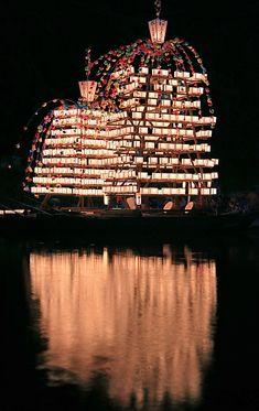 Float ship #1 - Nagatoro, Saitama // photo by Takero Kawabata, Japan -- click image for more photos and information