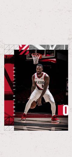 Portland Trailblazers Damian Lillard Wallpaper #RipCity #DameTime #LogoLillard #Portland Damian Lillard, Lit Wallpaper, Basketball Art, Portland Trailblazers, Nba Players, Sports, Wallpapers, Random, Basketball