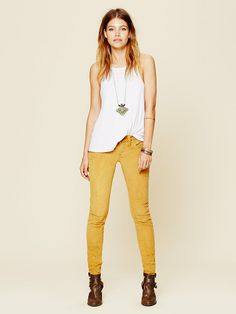 Free People FP Cord Skinny at Free People Clothing Boutique