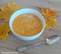 My Culinary Curriculum: Velouté de chou-fleur au potiron (Cauliflower crea...