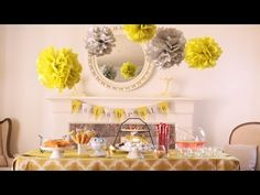 how to make a dessert bar - with templates