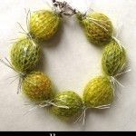 Simple Knit Winter Jewelry - Mrs. Polly Rogers | Decorate, Make, Create!