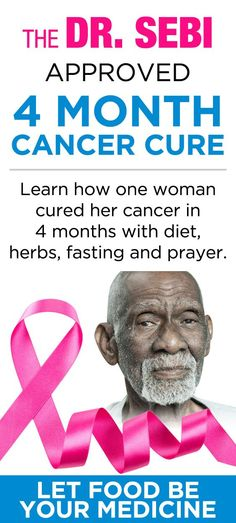 Dr. Sebi Approved Cancer Cure - 1`woman's journey to healing.
