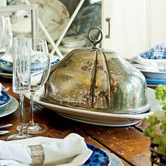 Serve in Style - table tips from Darryl Carter