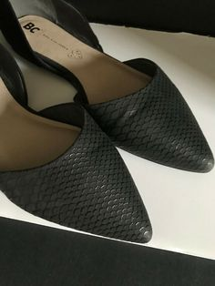 da48b124525e BC - Born California Pointed Toe Snake Skin Black Flats - Woman s Size 9  shoes  fashion  clothing  shoes  accessories  womensshoes  flats (ebay link)