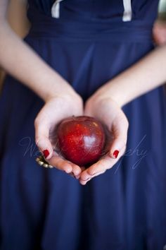 Colors ~ Red and Blue Giving Hands, Hand Photography, Red Cottage, Female Character Inspiration, Apple Harvest, Joy Of Life, Red Apple, Book Cover Design, Shades Of Red