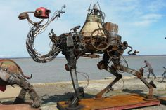 Steampunk Tendencies | Scrap Metal Camel ~ Christian Champin New Group : Come to share, promote your art, your event, meet new people, crafters, artists, performers... https://www.facebook.com/groups/steampunktendencies