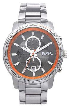 MICHAEL Michael Kors Michael Kors 'Granger' Chronograph Bracelet Watch, 45mm available at #Nordstrom