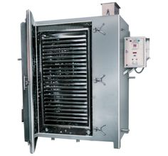 J K Industries is a manufacturer and supplier of tray dryer. It is a highly effective air re circulating system. The heated air is recirculating in the selected portion of the machine for drying.