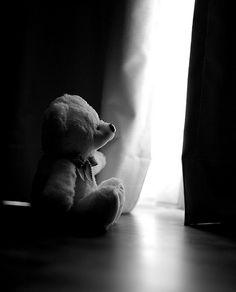 Lonely teddy... by joshlty, via Flickr