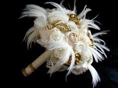 Marie Antoinette Feather Bouquet