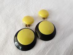 Plastic Earrings, Pearl Earrings, Drop Earrings, Pearls, Vintage, Collection, Jewelry, Pearl Studs, Jewlery