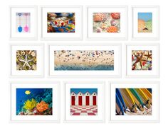 TROWBRIDGE Gallery - Colour Beach Collection  (Link: http://www.trowbridgegallery.com/display-set.php?SetCode=COBC)