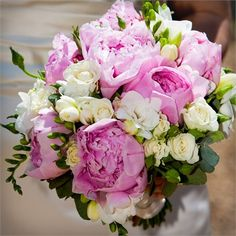 Miroslava's Bridal Bouquet