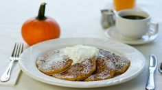 Pumpkin pancakes, made with whole pumpkin, brown sugar, molasses and traditional spices - 10 Must-Try Pumpkin Dishes in Dallas–Fort Worth - Zagat