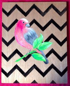 木製パネルに直接描いた小鳥です。背景のギザギザがポイントです。 F3サイズ27.3cx22c 送料クリップポスト¥164 |ハンドメイド、手作り、手仕事品の通販・販売・購入ならCreema。