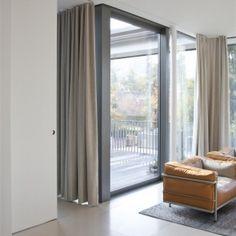 Livingroom with Cube slidingdoor - Bod'or KTM - Residential - Doors: Cube