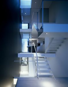 House in Showa-cho by Fujiwaramuro Architects. That is so not a house...